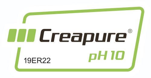 Creapure pH10 logo